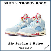 "【Nike×Trophy Room】激レア Air Jordan 5 Retro ""Ice Blue"""