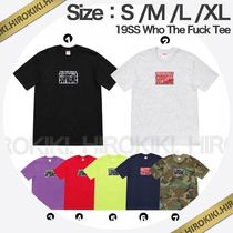 19SS /Supreme Who The Fuck Tee シュプリーム Tシャツ 7色