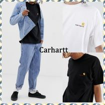 ★Carhartt WIP★アメリカクリプトロゴTシャツ2色【関送込み】