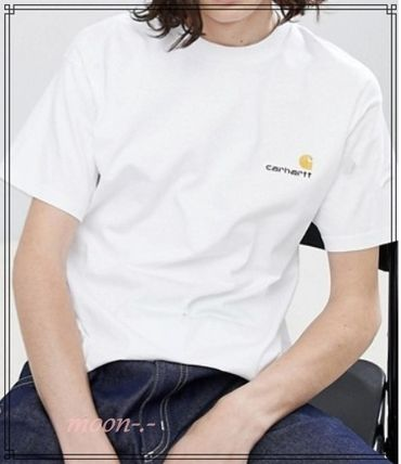Carhartt Tシャツ・カットソー ★Carhartt WIP★アメリカクリプトロゴTシャツ2色【関送込み】(7)