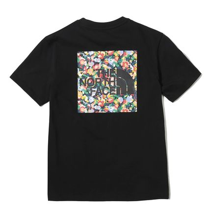 THE NORTH FACE Tシャツ・カットソー 日本未入荷!★THE NORTH FACE★花柄プリントティーシャツ★4色(3)
