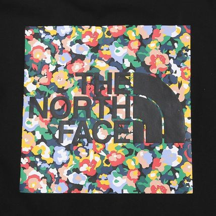THE NORTH FACE Tシャツ・カットソー 日本未入荷!★THE NORTH FACE★花柄プリントティーシャツ★4色(6)