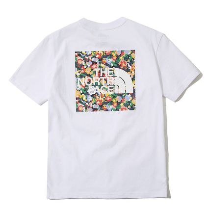 THE NORTH FACE Tシャツ・カットソー 日本未入荷!★THE NORTH FACE★花柄プリントティーシャツ★4色(8)