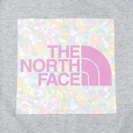 THE NORTH FACE Tシャツ・カットソー 日本未入荷!★THE NORTH FACE★花柄プリントティーシャツ★4色(14)