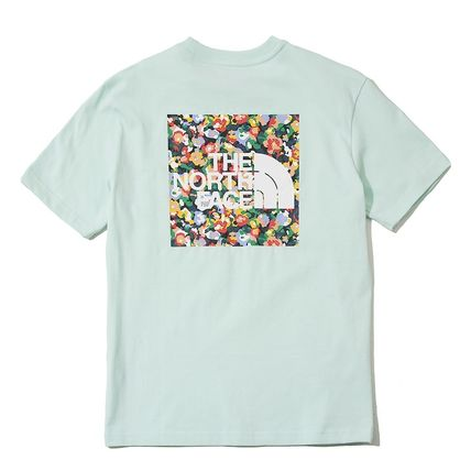 THE NORTH FACE Tシャツ・カットソー 日本未入荷!★THE NORTH FACE★花柄プリントティーシャツ★4色(15)