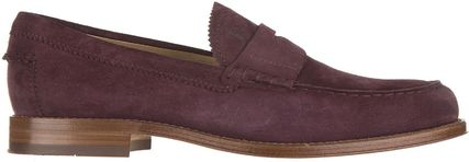 Tods□SALE★27Mens suede ローファー モカシン madera formale