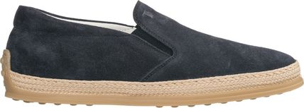 Tods▲【人気】29Mens suede スリップ on スニーカー