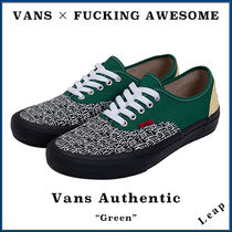 """【VANS×FUCKING AWESOME】入手困難 VANS Authentic """"Green"""""""