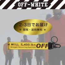 【送料無料】INDUSTRIAL WEBBING ☆ KEY CHAIN 【Off-White】