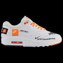 FW18 NIKE AIR MAX 1 SE JDI JUST DO IT WHITE WOMEN'S