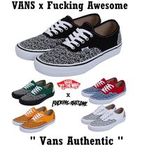 """[VANS x Fucking Awesome] """" VANS Authentic """""""