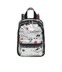 "☆LeSportsac x Alber Elbaz ""LOOK AT ME SILVER""  BACKPACK"