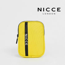 SALE【Nicce】ロゴ フライトバッグ イエロー / 送料無料