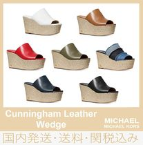 【セール/国内発送】Cunningham Leather Wedge