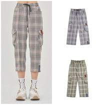 日本未入荷ROMANTIC CROWNのCheck Pocket Ankle Pants 全2色