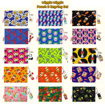 wiggle wiggle(ウィグルウィグル) ポーチ wiggle wiggle ポーチ&キーリングセット Funky Pouch (全15種)