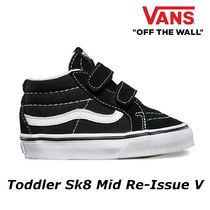 【VANS】人気商品 キッズ Toddler Sk8 Mid Re-Issue V
