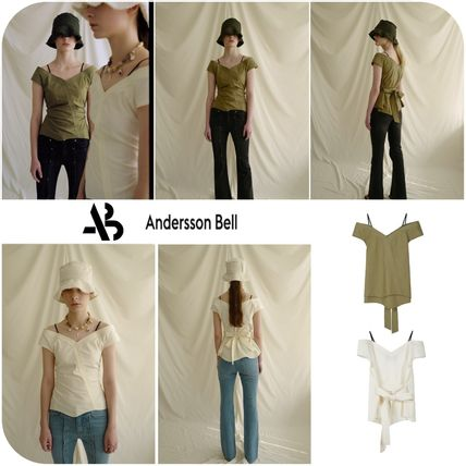 [Andersson Bell]★ 韓国大人気 ★ JUNE OFF-SHOULDER BLOUSE