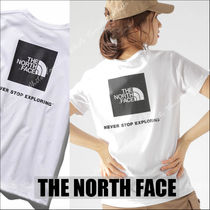 国内発送★THE NORTH FACE SQUARE LOGO TEE レディース