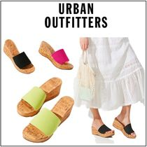 Urban Outfitters◆サンダル◆シンプル◆Heather Cork Wedge