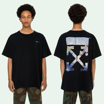 OFF WHITE 19SS COLORED ARROWS S/S OVER TEE