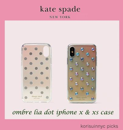 SALE*KATE SPADE NY*ombre lia dot iphone x & xs case