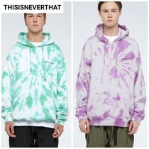 新作人気★thisisneverthat★Tie dye Hooded Sweatshirt 2色
