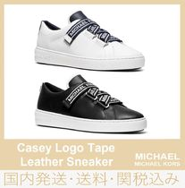【セール/国内発送】Casey Logo Tape Leather Sneaker