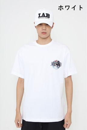 JUSTO Tシャツ・カットソー ★JUSTO★ 兼用 SAVE THE EARTH T-SHIRTS 半袖Tシャツ 2色(8)