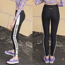★rolarola★韓国 ロゴ レギンス SIDE LETTERING WATER LEGGINGS