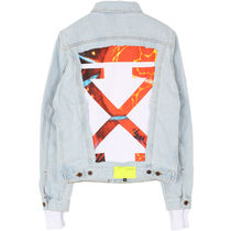 Off-White 19SS Arrows Patch デニム ジャケット