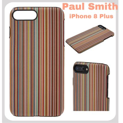 sports shoes 05105 bd3b6 【海外直輸入☆】iPhone 8 Plus ケース♪ Paul Smith♪