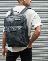 UK発Superdry19SS新作'Academic backpack'(Wet Look Camo)