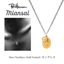 Ron Herman 取扱 ジャスティン愛用 MIANSAI Dove Necklace Gold