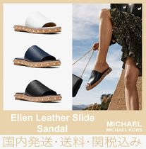 【セール/国内発送】Ellen Leather Slide Sandal