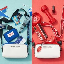 ★STRETCH ANGELS★ PANINI color block bag (Red/blue)