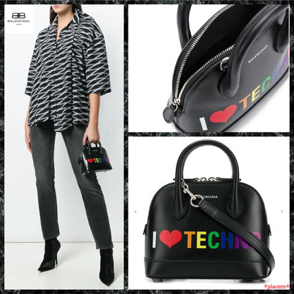【BALENCIAGA】◆I Love Techno ヴィル バッグ XXS◆
