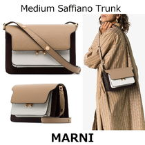 ▽国内発送・関税込▽MARNI▽Medium Saffiano Trunk