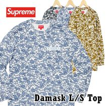 Supreme シュプリーム ダマスク Damask L/S Top SS 19  WEEK 13