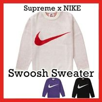 Nike X Supreme シュプリーム Swoosh Sweater SS 19 WEEK 13