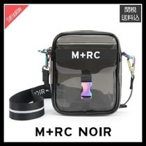 【国内入手困難】M+RC NOIR Ghost PVC Transparent Bag ブラック