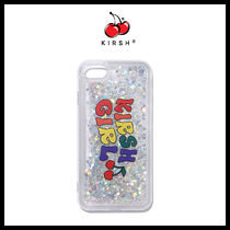 【KIRSH】GLITTER RAINBOW PHONE CASE★iphone★日本未入荷★NEW