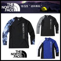 関税込★THE NORTH FACE★M'S NEW WAVE RASHGUARD★3色★
