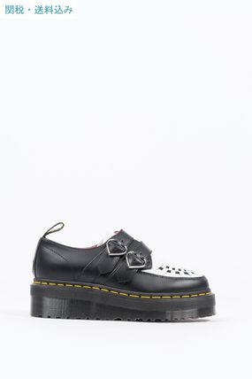 Dr Martens シューズ・サンダルその他 【関税込】DR MARTENS X LAZY OAF BUCKLE CREEPER BLACK WHITE