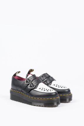 Dr Martens シューズ・サンダルその他 【関税込】DR MARTENS X LAZY OAF BUCKLE CREEPER BLACK WHITE(2)