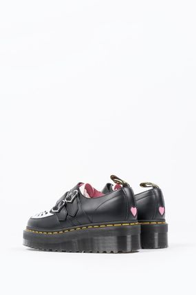 Dr Martens シューズ・サンダルその他 【関税込】DR MARTENS X LAZY OAF BUCKLE CREEPER BLACK WHITE(3)