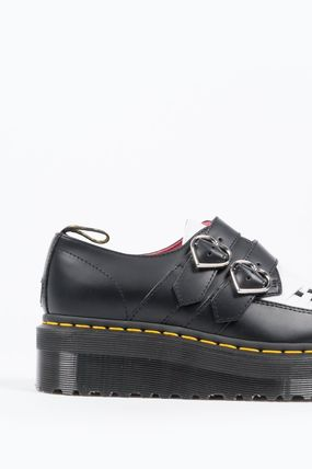 Dr Martens シューズ・サンダルその他 【関税込】DR MARTENS X LAZY OAF BUCKLE CREEPER BLACK WHITE(4)