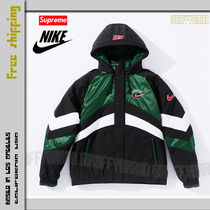 S-XL / 19SS SUPREME x NIKE Nylon Hooded Sport Puffy Jacket