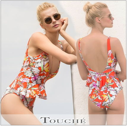 ■TOUCHE■TIGER LILY ラッフルワンピース【国内〒】