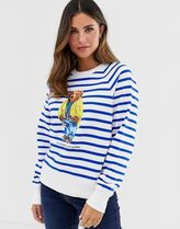 Polo Ralph Lauren stripe teddy sweatshirt